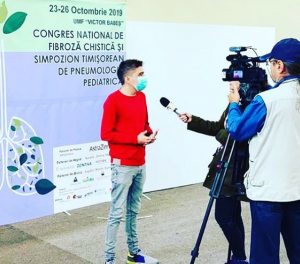 Mihăiță Bariz a înființat un ONG în sprijinul pacienților cu fibroză chistică: În România, pacientul primește acest diagnostic foarte târziu și începe tratamentul cu mare întârziere