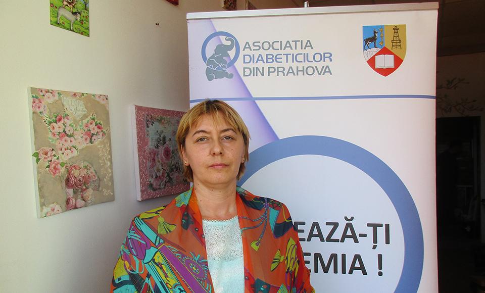 Carmen Angela Mihai (Asociația Diabeticilor Prahova): Trăim sub stres, nu ştim cum vom putea să ne tratăm fără a avea şansa unei consultaţii directe sau a unei internări