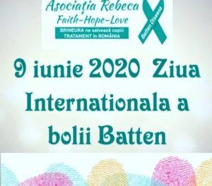 Ziua Internaţională a copiilor cu boala Batten, marcată și în România