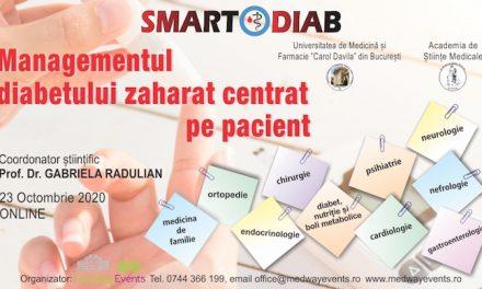 A fost finalizat programul SMARTDIAB, 23 octombrie 2020