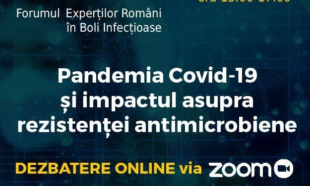 Dr. Adrian Streinu Cercel și Dr. Virgil Musta vorbesc astăzi la Webinarul FERBI – Forumul Experților Români în Boli Infecțioase