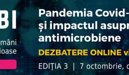 Speakeri internaționali de renume participă la cea de-a treia întâlnire FERBI: Forumul Experților Români în Boli Infecțioase din 7 octombrie