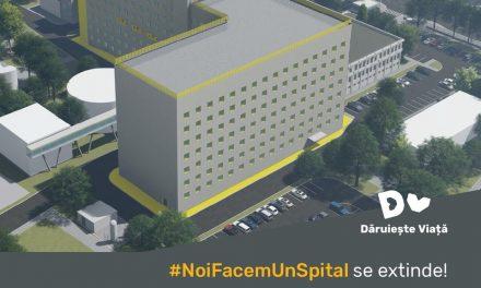 Daruieste Viata recruteaza 100.000 de susținători pentru #NoiFacemUnSpital