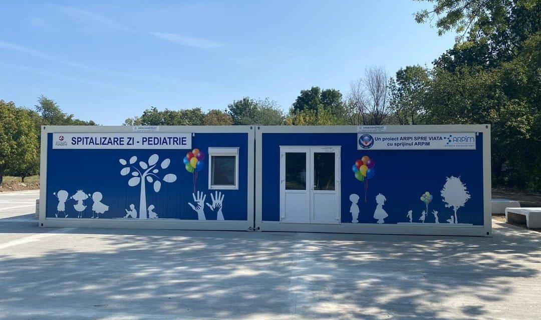 Construcția centrului modular de spitalizare de zi pediatrie de la Institulul Clinic Fundeni a fost finalizată