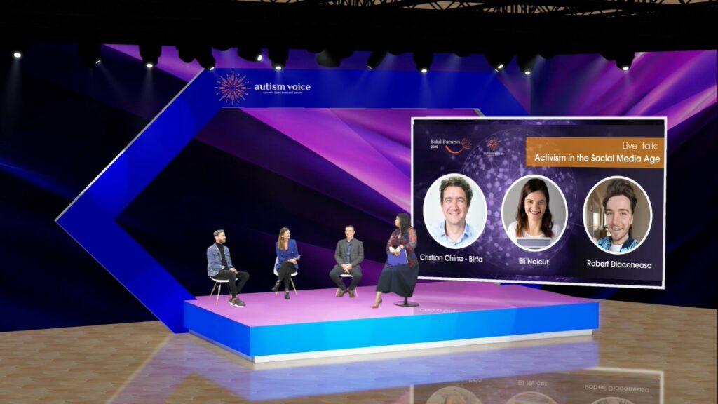 360 de participanți la primul bal caritabil online dedicat copiilor cu autism organizat de Autism Voice