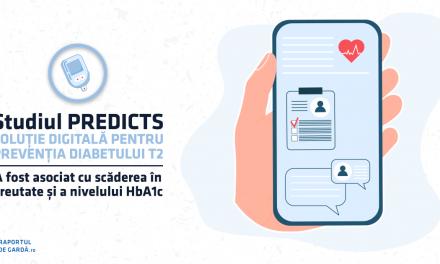 STUDIU. O soluție digitală pentru prevenția diabetului tip 2 poate determina scăderea semnificativă a HbA1c