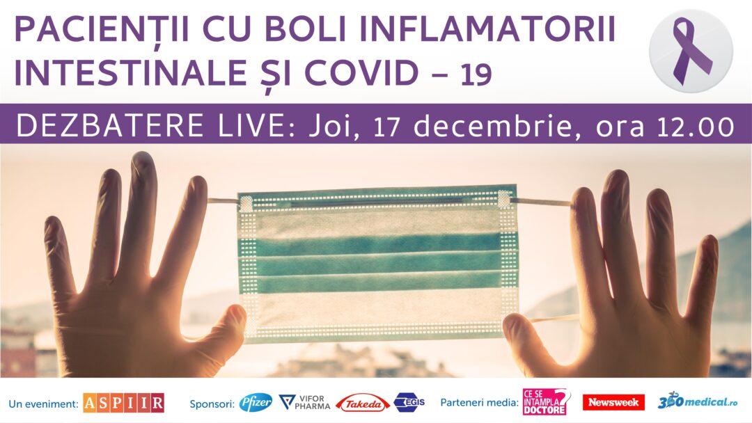 Pacienții cu Boli Inflamatorii Intestinale și COVID-19: temeri și provocări în comunicarea cu medicul curant