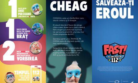 Campanie educaţională adresată copiilor pentru conştientizarea simptomelor  accidentului vascular cerebral