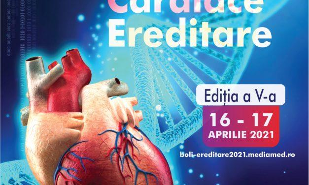 Cursul anual dedicat bolilor cardiovasculare genetice are loc online pe 16 și 17 aprilie