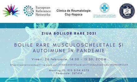 Comunitatea BoliRare.ro: 26 februarie – Webinar dedicat bolilor rare musculoscheletele și autoimune în pandemie