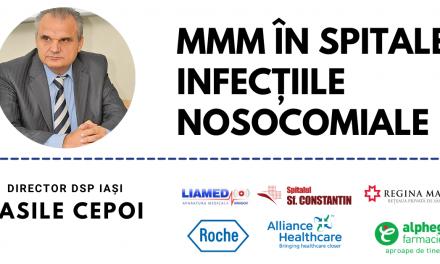 """Comunitatea de Spitale Publice: Pe 24 februarie are loc webinarul """"Management Medical Modern – Infecții nosocomiale"""""""