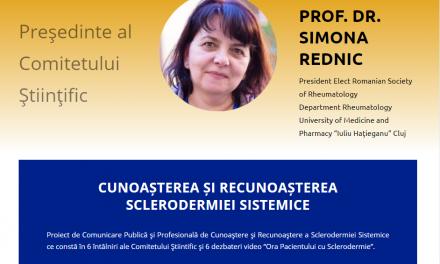 """Comunitatea BolileRare.ro: Pe 24 martie are loc o nouă ediție a webinarului """"Ora Pacientului"""" – SCLERODERMIE"""