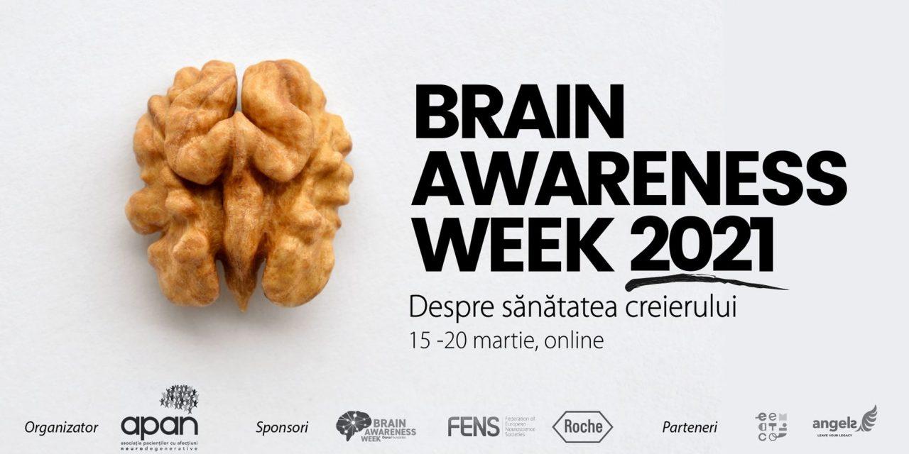 15 – 20 martie, Brain Awareness Week 2021: Despre sănătatea creierului