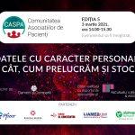 Comunitatea Caspa.ro: Datele personale – subiectul celei de-a cincea întâlniri digitale