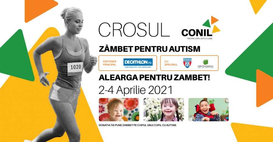 Crosul CONIL, zâmbet pentru autism!