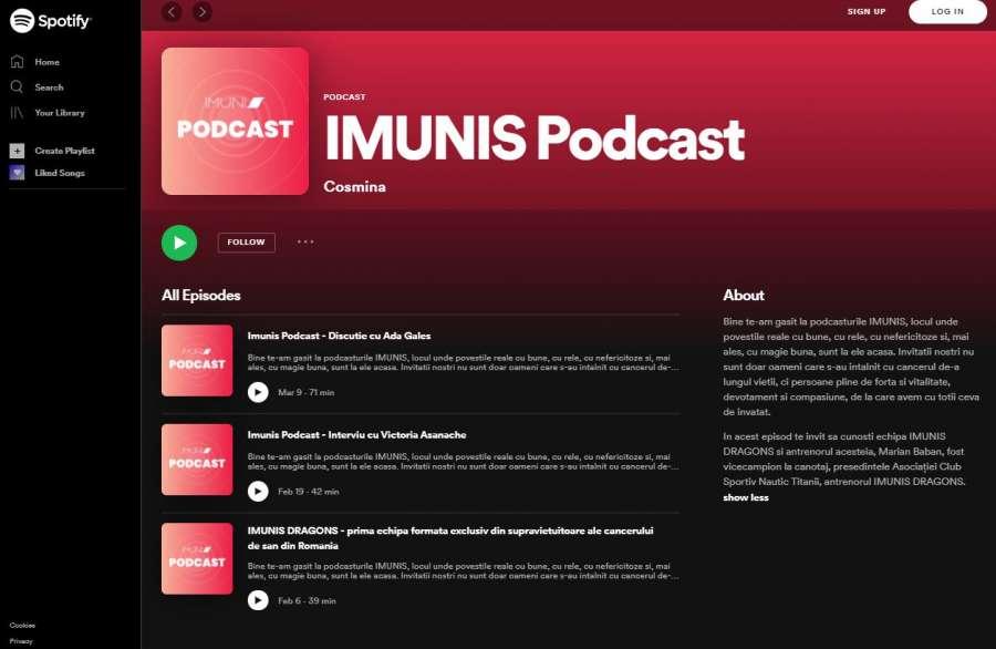 Asociația Imunis lansează IMUNIS Podcast, o serie de dialoguri inspiraționale cu și despre povești de viață rescrise după diagnostic