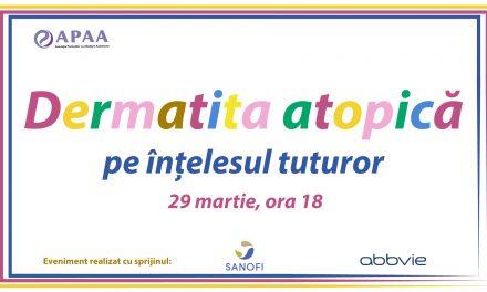 """""""Dermatita Atopică pe înțelesul tuturor"""", seminar organizat de Asociația Pacienților cu Afectiuni Autoimune"""