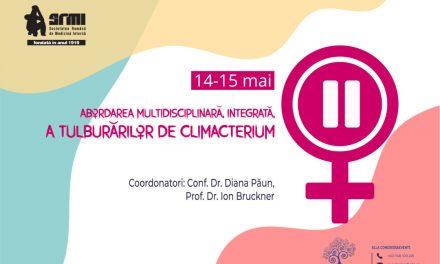 """""""Abordarea multidisciplinara, integrata, a tulburarilor de climacterium"""", webinar, 14-15 mai 2021"""