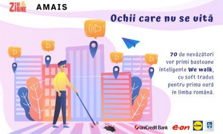 Asociația Zi de Bine oferă bastoane smart We Walk pentru nevăzătorii români