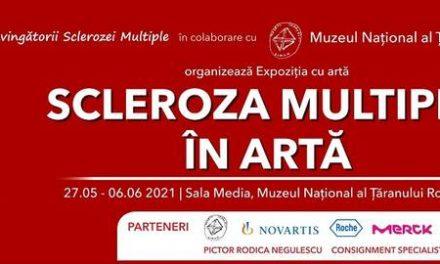 """""""Scleroza multiplă în artă""""- expoziție cu lucrări realizate de pacienți"""