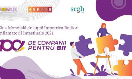 """Ziua Mondială de luptă împotriva Bolilor Inflamatorii Intestinale: lansare """"100 de companii pentru BII"""""""