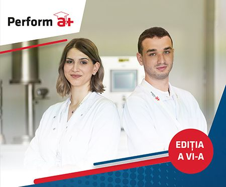 Antibiotice lansează programul Perform a+, ediția 2021