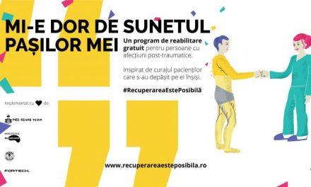 Recuperarea este Posibilă – un program pentru pacienții cu afecțiuni musculo-scheletale post-traumatice