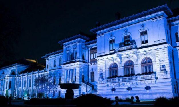 Palatul Cotroceni – iluminat miercuri în turcoaz, pentru conştientizarea bolii Batten