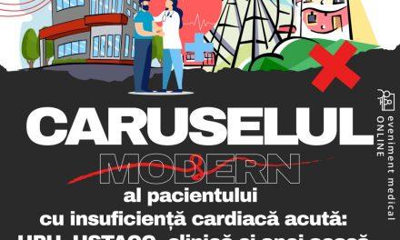 Caruselul modern al pacientului cu insuficiență cardiacă acută