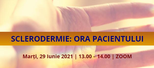 Comunitatea OSC – Boli Rare marchează Ziua Mondială a Sclerodermiei prin cea de-a III-a întâlnire Ora Pacientului cu Sclerodermie