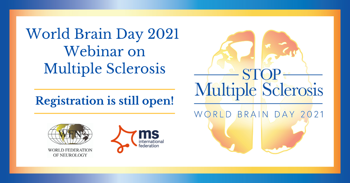 """Tema Zilei Mondiale a Creierului 2021: """"Opriți scleroza multiplă"""""""
