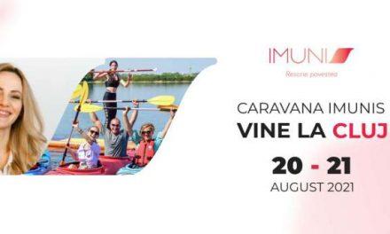Caravana Imunis dedicată pacienților cu cancer vine la Cluj – Napoca în perioada 20 – 21 august 2021