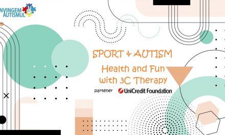"""Asociația Învingem Autismul implementează proiectul""""SPORT & AUTISM – Health and Fun with 3C Therapy"""""""