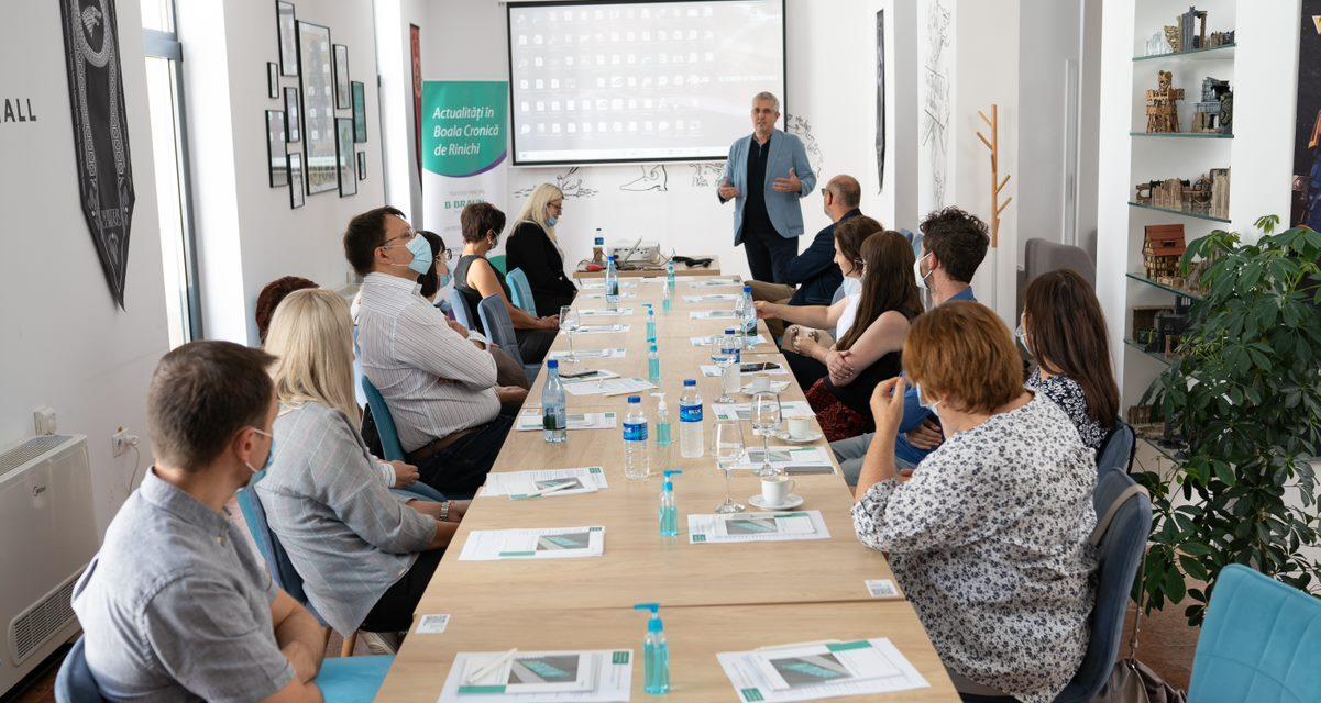 Actualități în boala cronică de rinichi – tema recentei întâlniri a Comunității OSC-Nefrologie de la Cluj