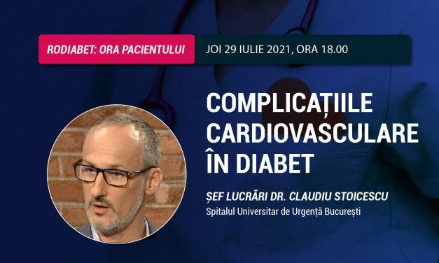 Dr. Claudiu Stoicescu: De ce apar bolile cardiovasculare la pacienții cu diabet?