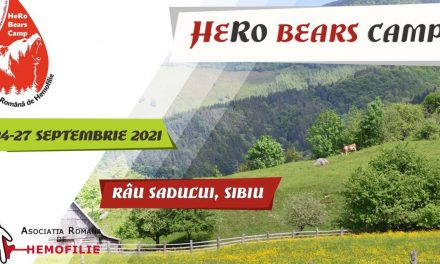 HeRo Bears Camp – Tabăra de aventură și teambuilding dedicată tinerilor cu hemofilie