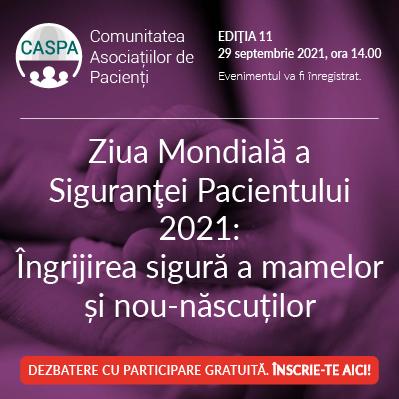 Întâlnirea Comunității Asociațiilor de Pacienți CASPA.RO