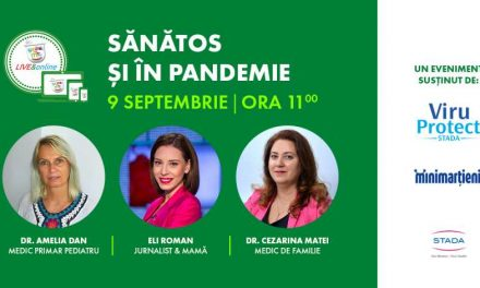 """Asociația SAMAS te invită la Conferința """"Sănătos și în pandemie"""""""