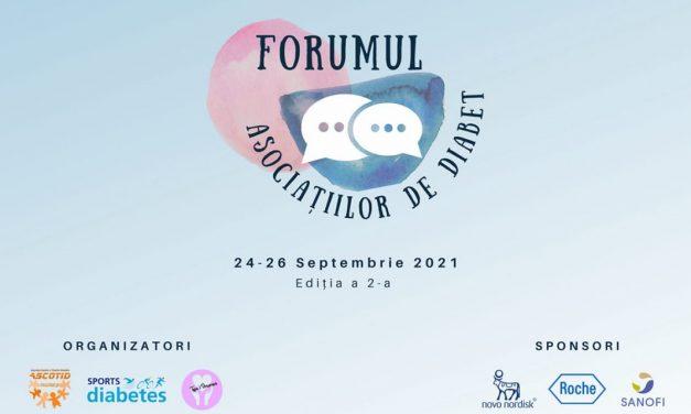 A doua ediție a Forumului Asociațiilor de Diabet