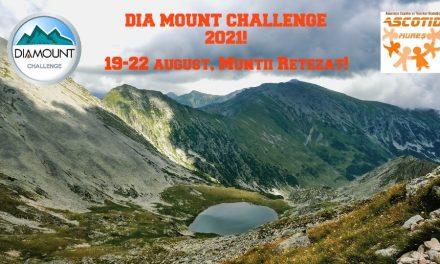 Proiectul Dia Mount Challenge a avut loc anul acesta în munții Retezat