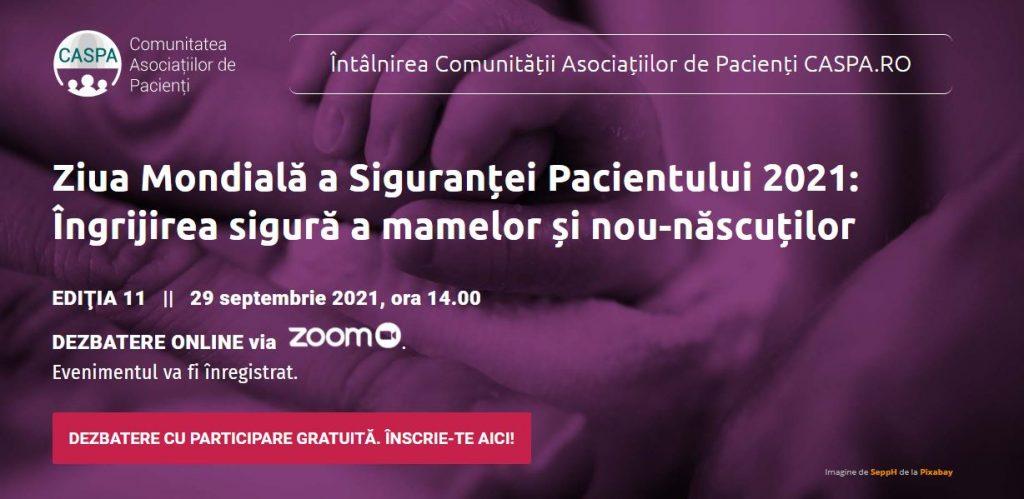 Caspa.ro - Ziua Mondială a Siguranței Pacientului