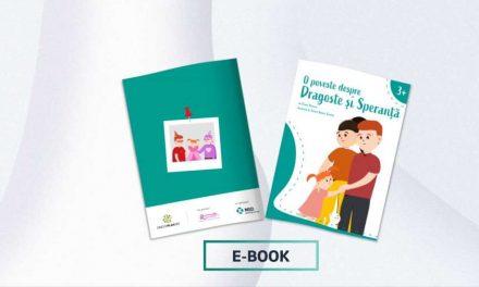 Fundația Renașterea și MSD România lansează o carte în format digital pentru copiii ai căror părinți sunt afectați de cancer