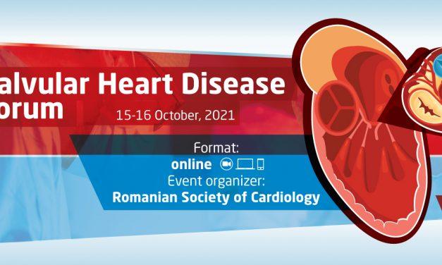Forumul pentru Bolile Cardiace Valvulare, susținut de Societatea Europeană de Cardiologie