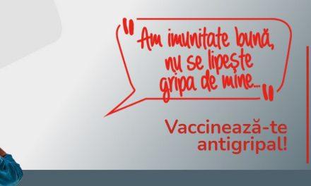 Campanie de educare şi informare a publicului larg cu privire la importanța vaccinării antigripale
