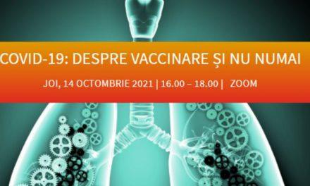 """La întâlnirea comunității OSC – Pneumologia.ro din 14 octombrie am discutat """"despre vaccinare și nu numai"""""""