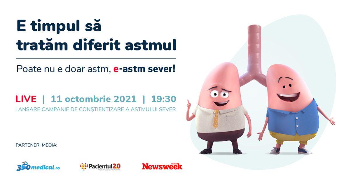 """A.P.A.A. – Asociaţia Pacienţilor cu Afecţiuni Autoimune lansează Campania """"e-astm sever"""""""